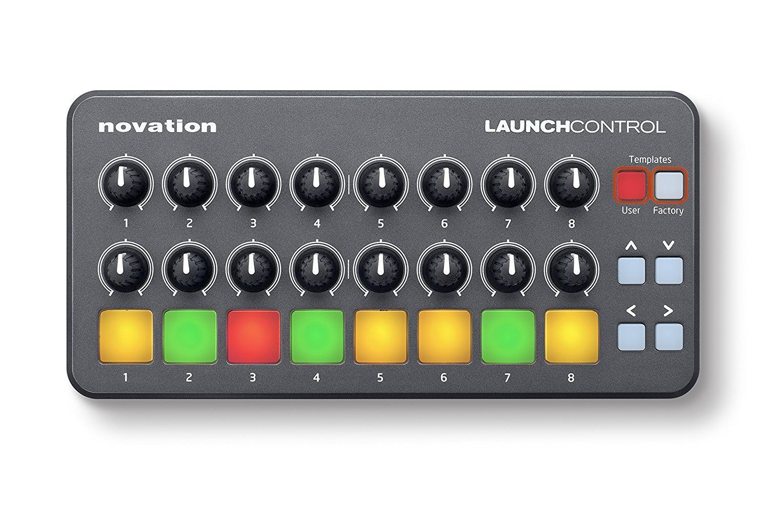 novation launch control portable midi controller rockbottom music. Black Bedroom Furniture Sets. Home Design Ideas